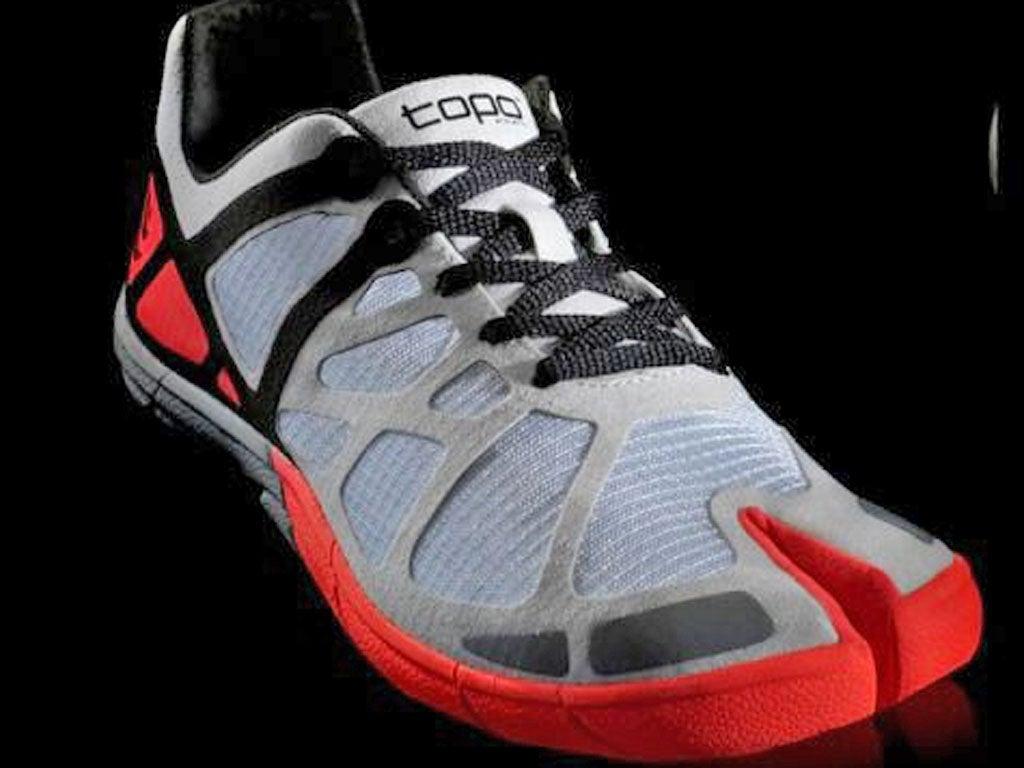 To boldly toe: ToPo Athletic split foot