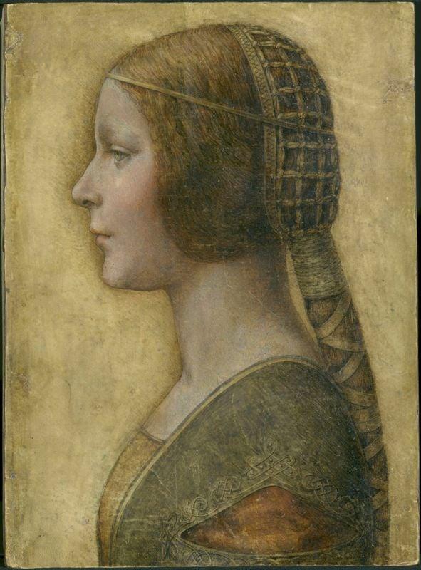 Not just Mona Lisa's smile? Da Vinci's La Bella Principessa also has 'uncatchable' expression   The Independentindependent_brand_ident_LOGOUntitled