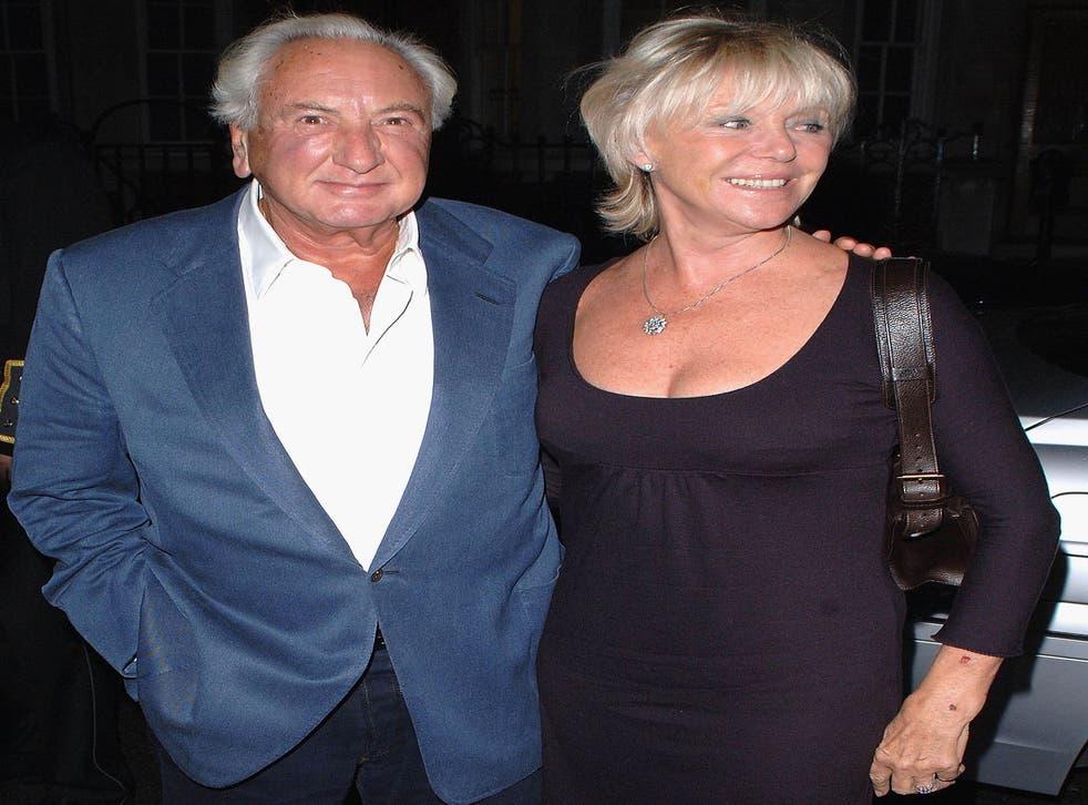 Michael Winner and his wife Geraldine
