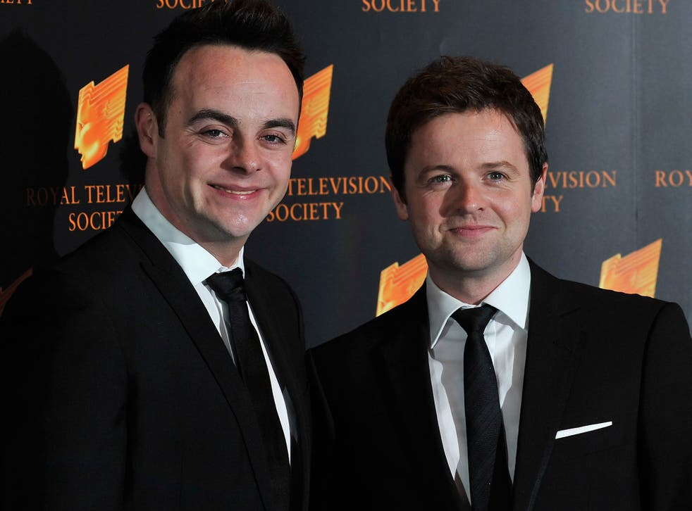 The duo are reportedly always filmed or photographed with Ant on the left, and Dec on the right