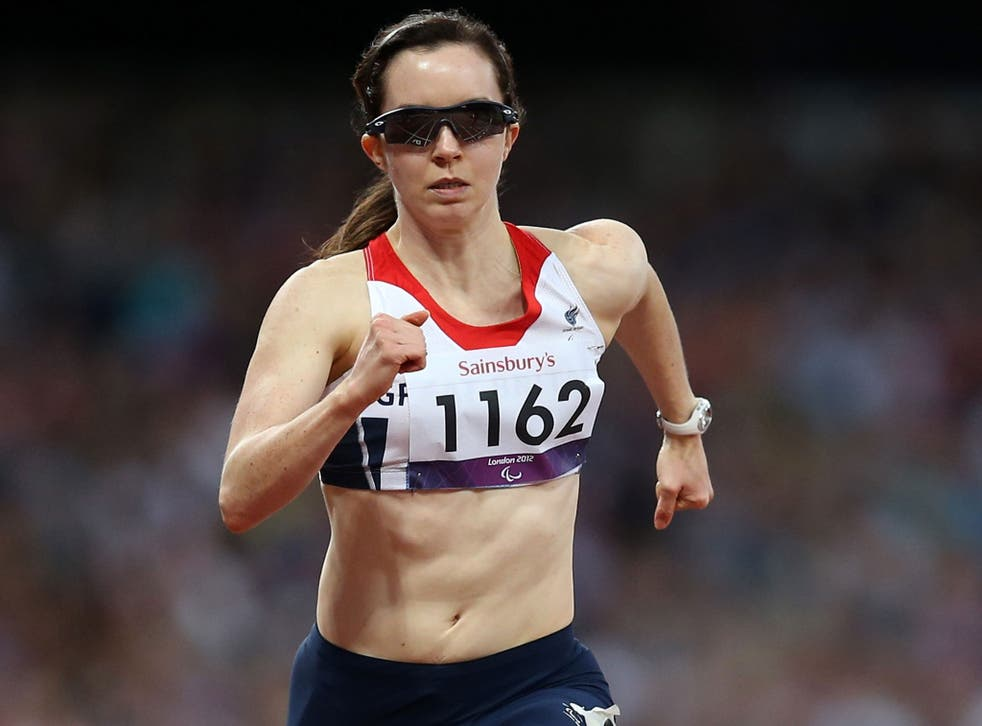 Stef Reid: Paralympic medallist competes in Glasgow tomorrow