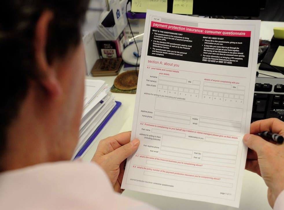 Many households may not even realise that they have a PPI policy