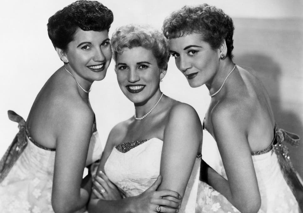 patty andrews the last of the andrews sisters the independent
