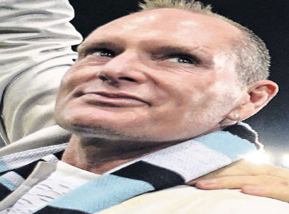 Paul Gascoigne has suffered a long battle with alcoholism
