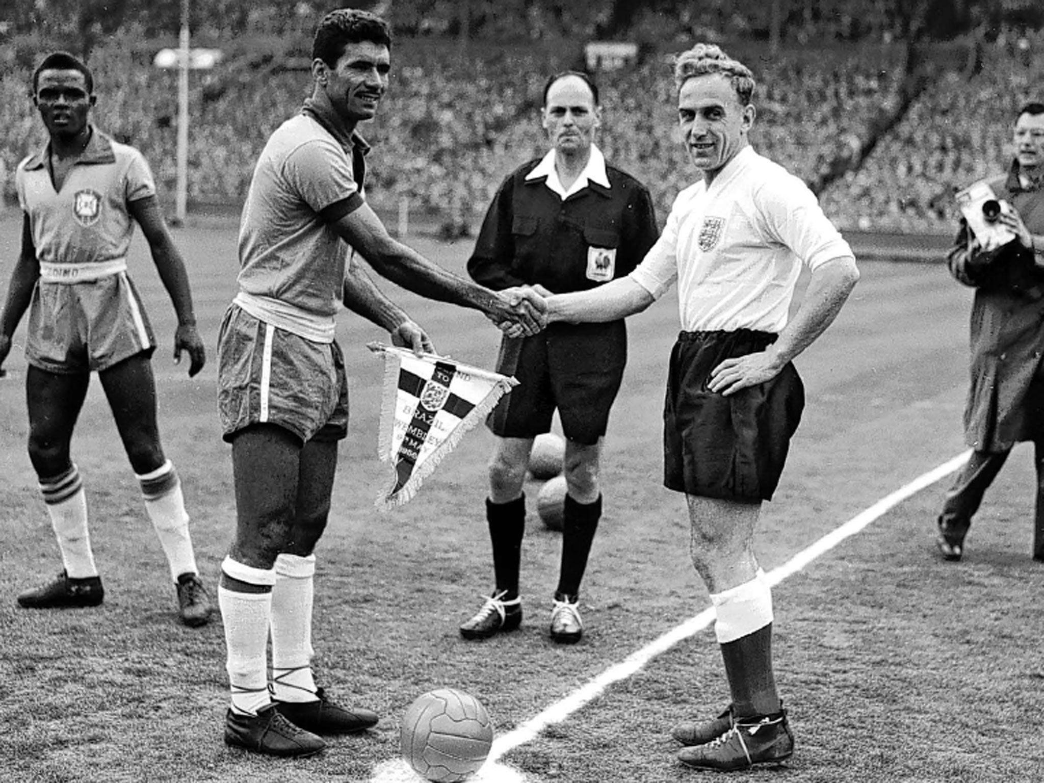 Resultado de imagem para brazil england 1958