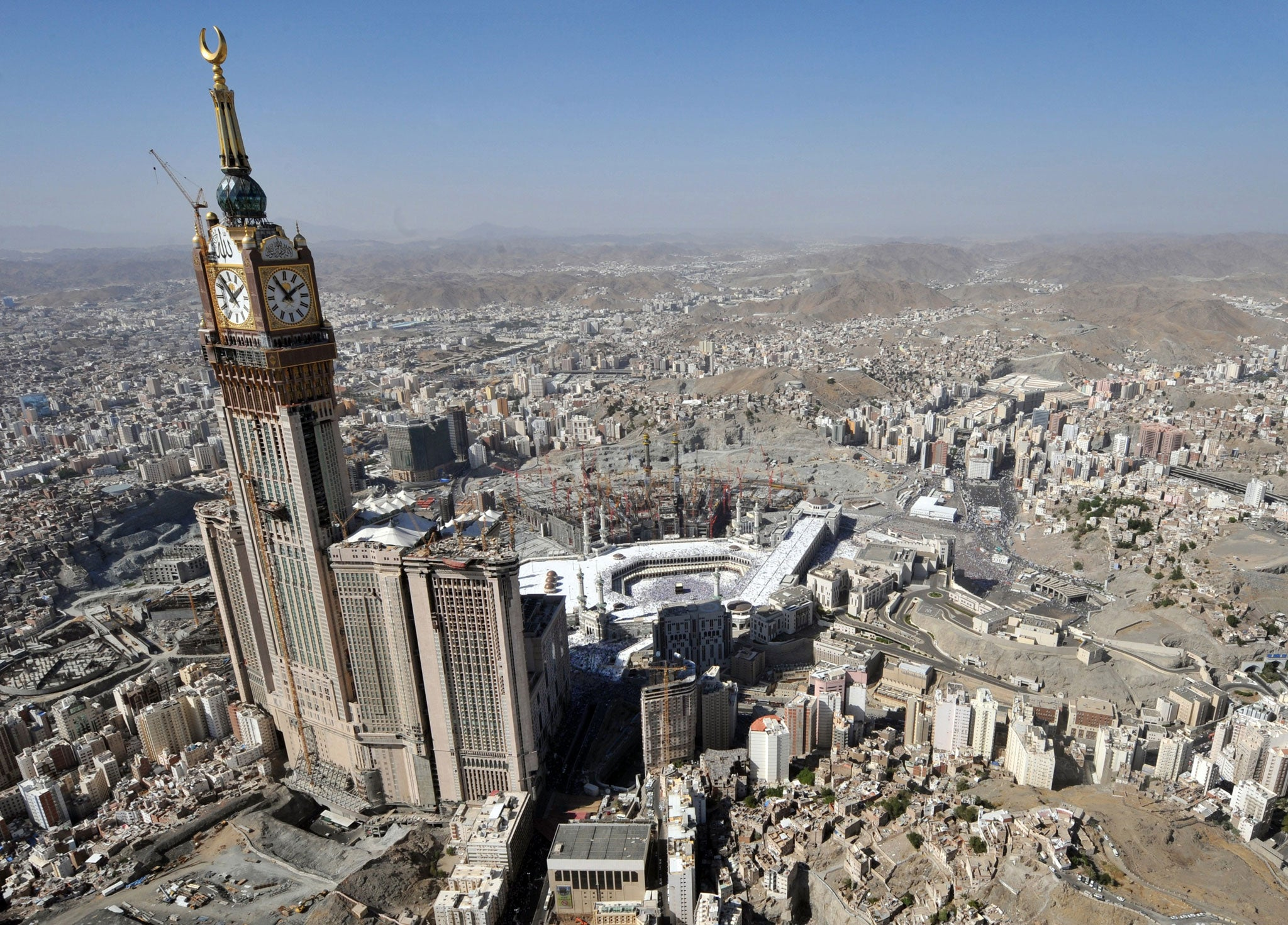 Mecca's creeping capitalism | The Independent