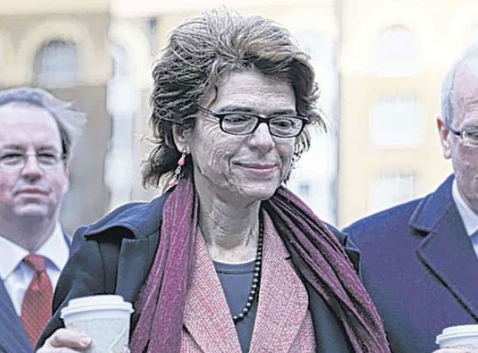 Vicky Pryce leaves Southwark Crown Court yesterday. She denies perverting the course of justice and her trial starts today