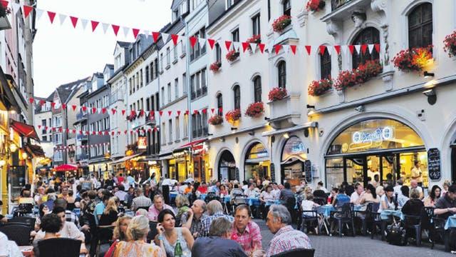 Raise the bar: drinking in the Altstadt