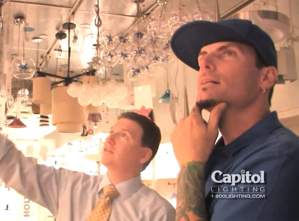 Vanilla Ice has launched his own range of chandeliers