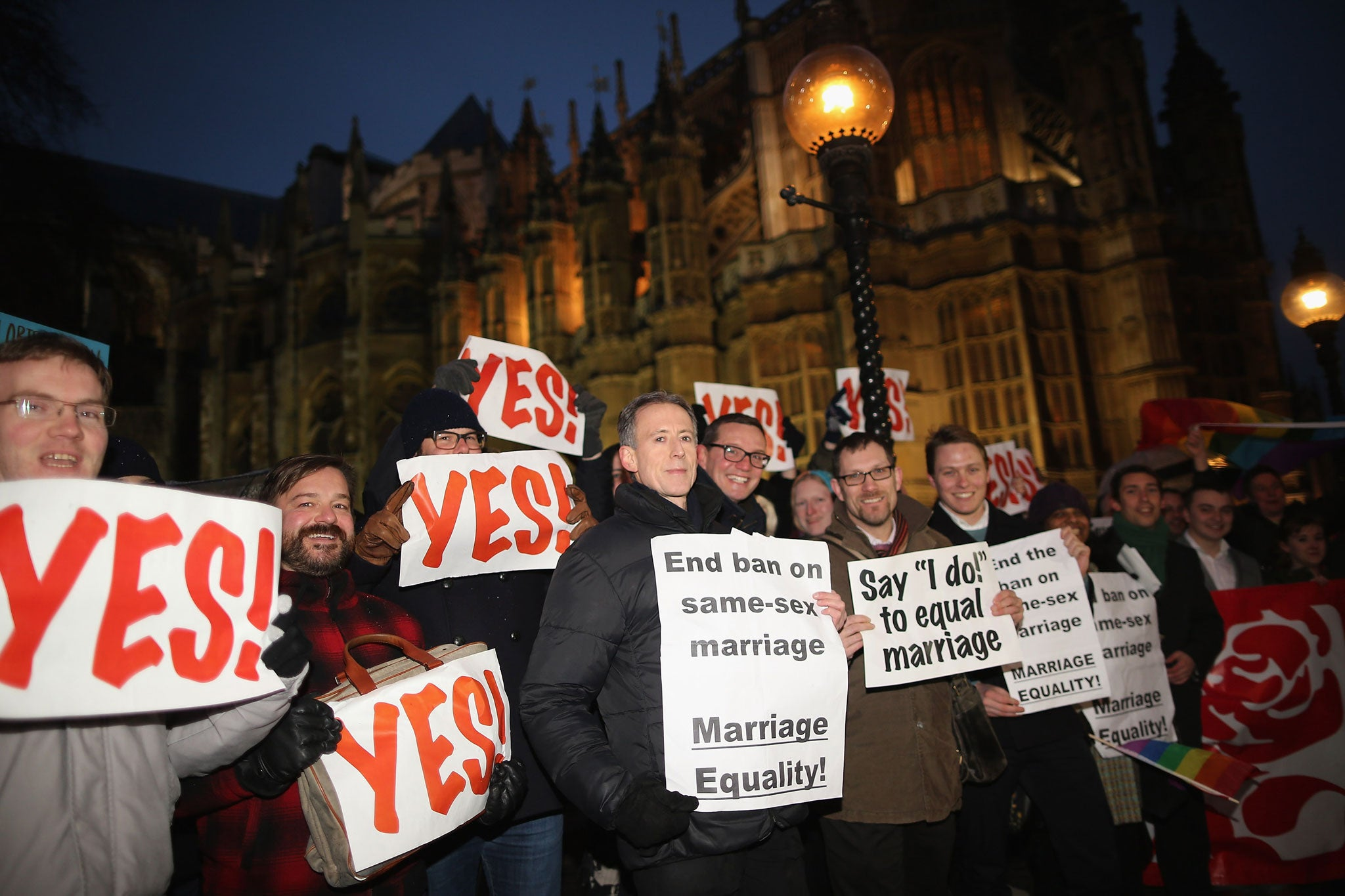 Illinois Gay Marriage Debate Is Splitting Parties, Churches