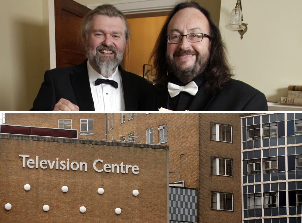 The Hairy Bikers (above) and the BBC Television Centre (below), which is due to become a BBC themed village