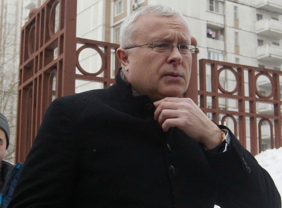 Alexander Lebedev's case has been delayed