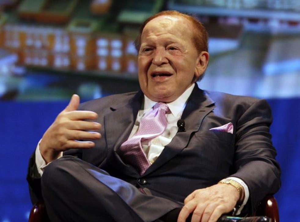Las Vegas Sands boss Sheldon Adelson
