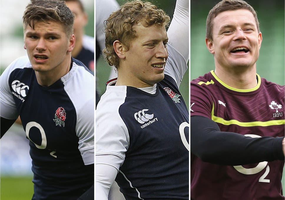 705266cb46e Backs to the fore  England will need inspiration from Owen Farrell (left)  and