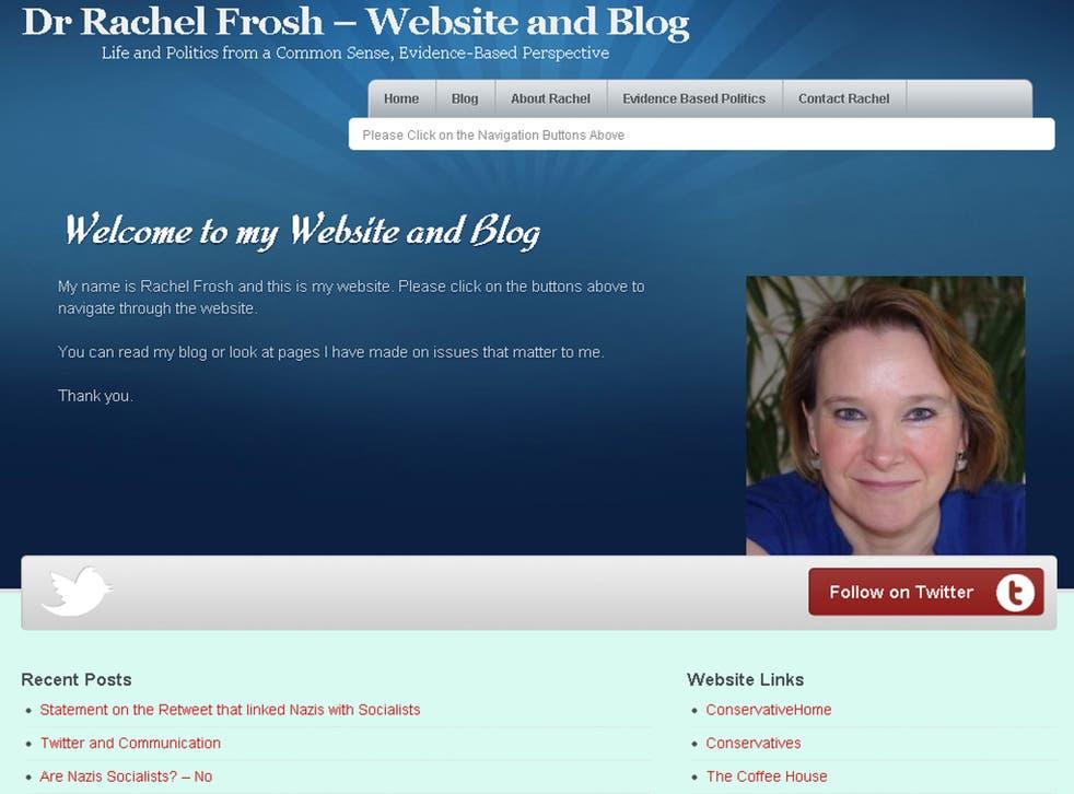 Dr Rachel Frosh's website
