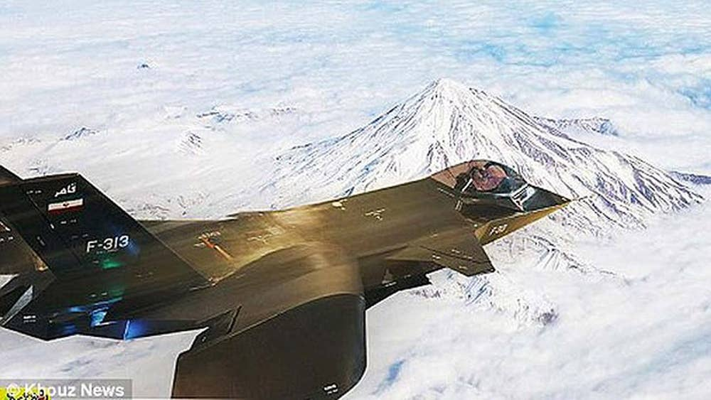 Iran's new stealth fighter jet caught out by bloggers in 'faked