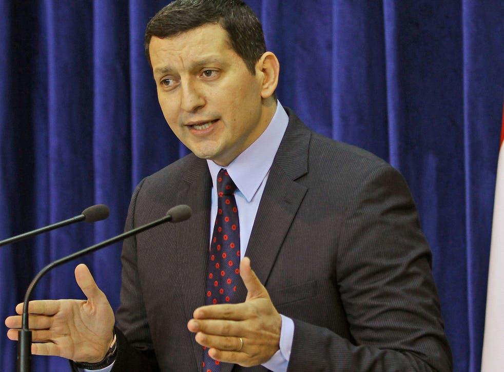 Former Syria foreign ministry spokesman, Jihad Makdissi