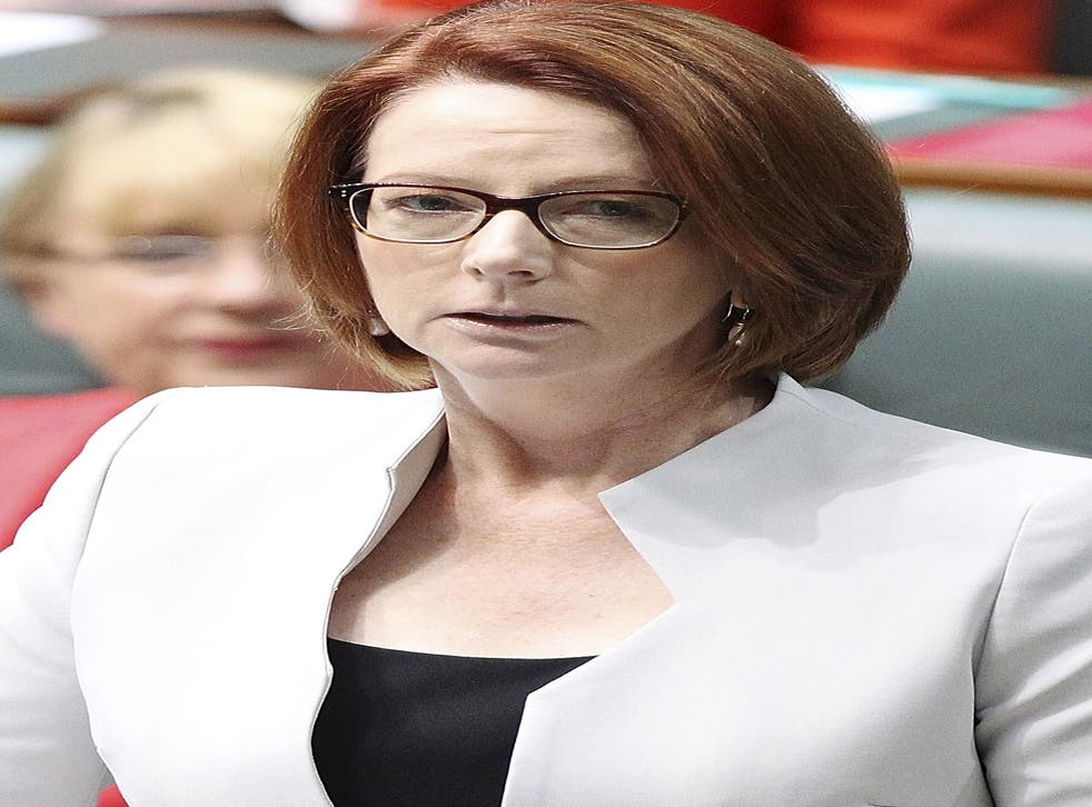 Julia Gillard, Australian PM: 'This is an unhealed wound at the heart of our national story'