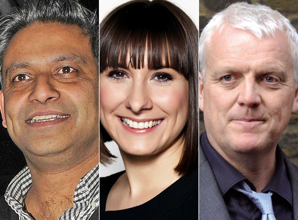 Rav Singh, Rachel Richardson and Jules Stenson were among the six arrested journalists