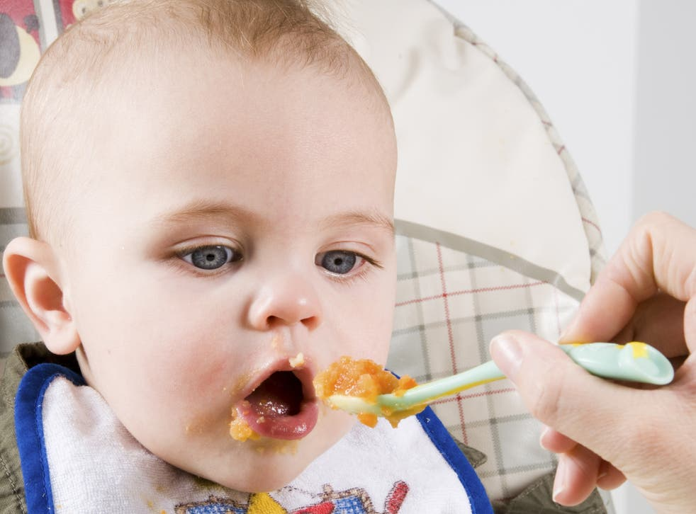 Babies and their palates can learn very early on about good food, even before their first mouthful