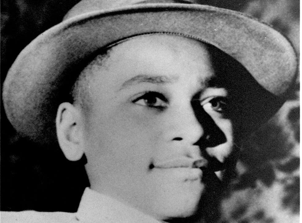 Emmett Till, the 14-year-old boy murdered in 1955. This photograph was taken by his mother on Christmas Day, 1954 about eight months before his murder.