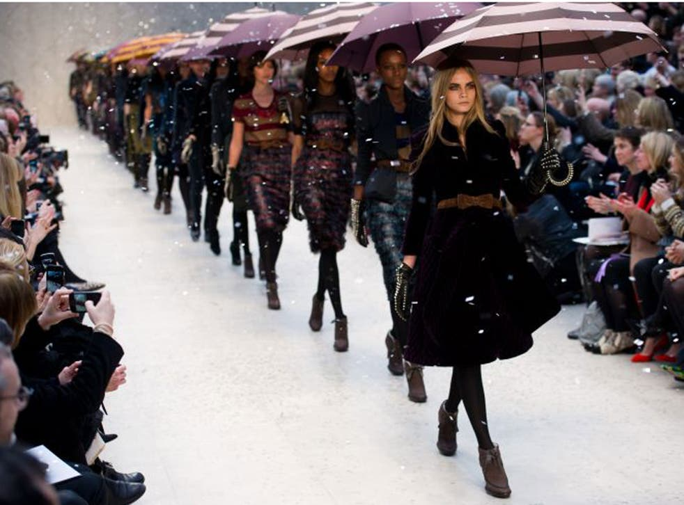 Cara Delevingne is way out in front of the model crowd
