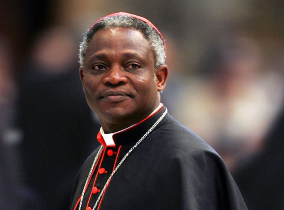 Good in vestment: Turkson is the bookmakers' favourite