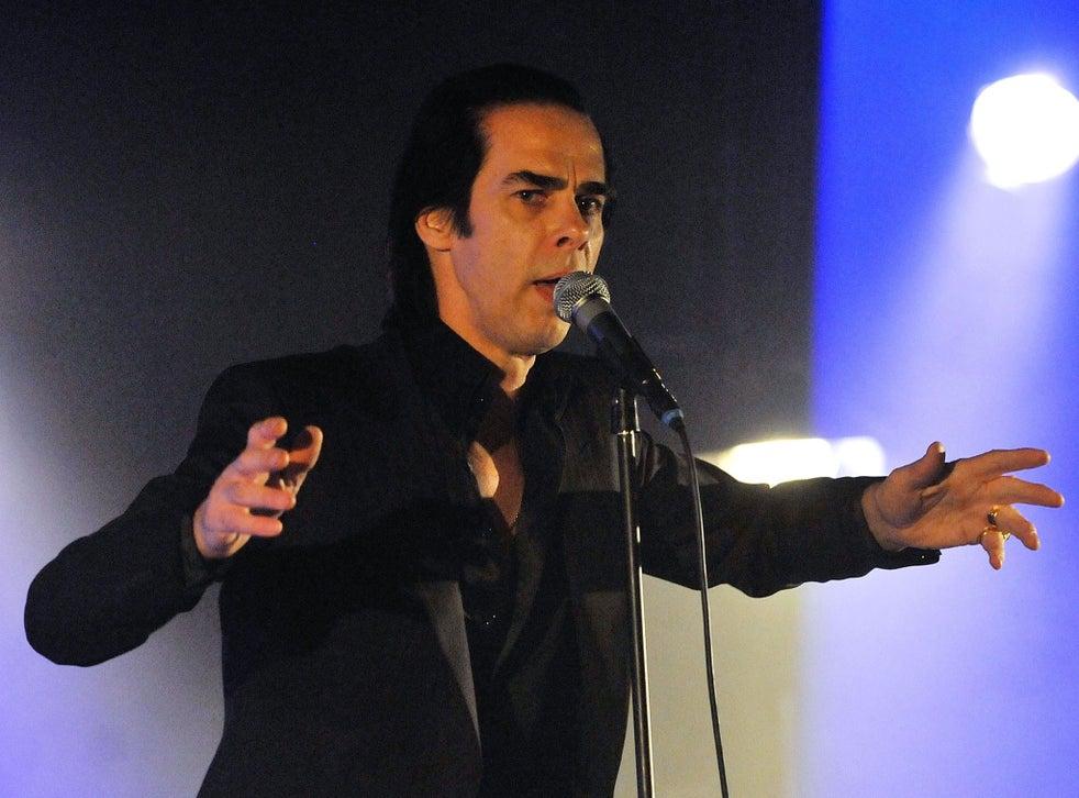Cadaverous: Nick Cave knows how to exploit his physique as well as any dancer