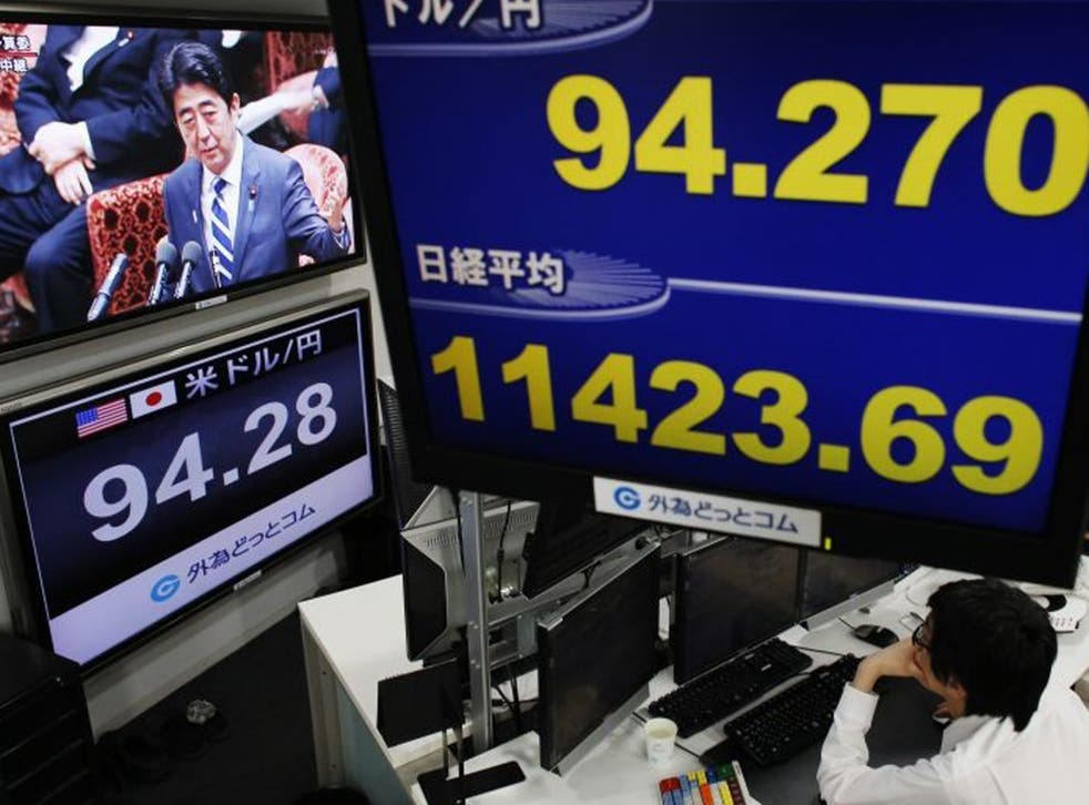 The Japanese Prime Minister Shinzo Abe has embarked on a huge programme of monetary and fiscal stimulus to jump start the world's third largest economy out of its third recession in five years