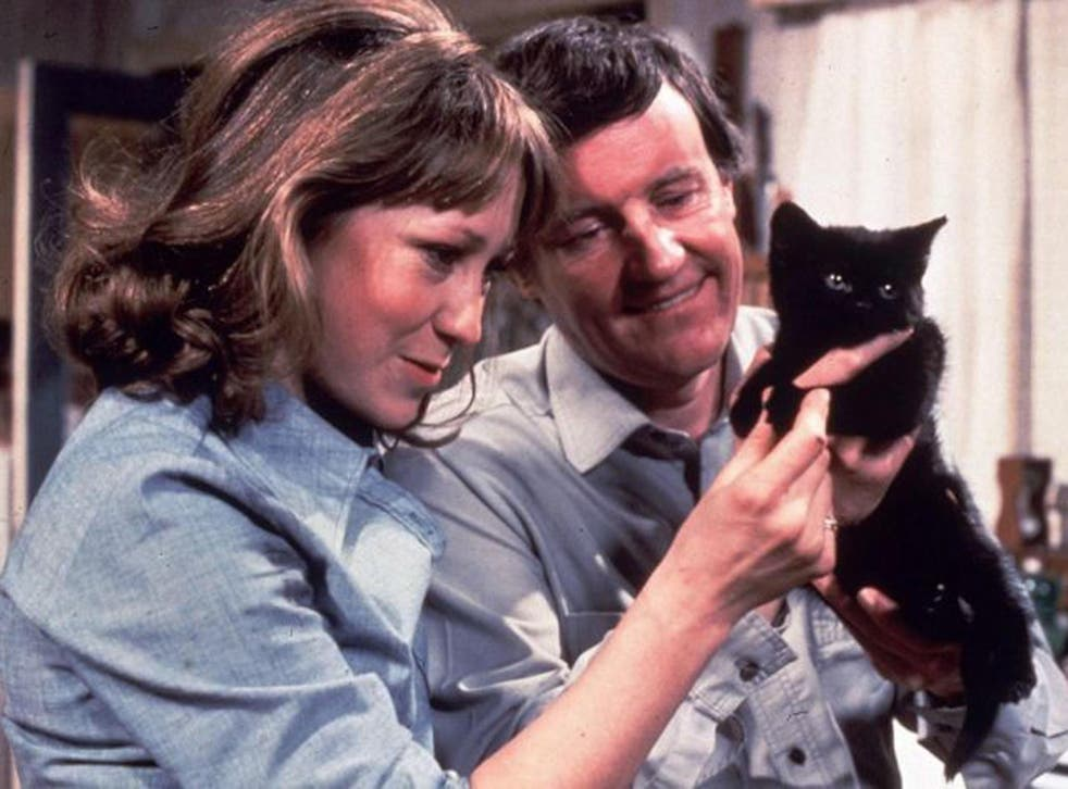 Stars of 1970s sitcom, The Good Life, Felicity Kendal, who played Barbara, and Richard Briers, known to viewers as Tom