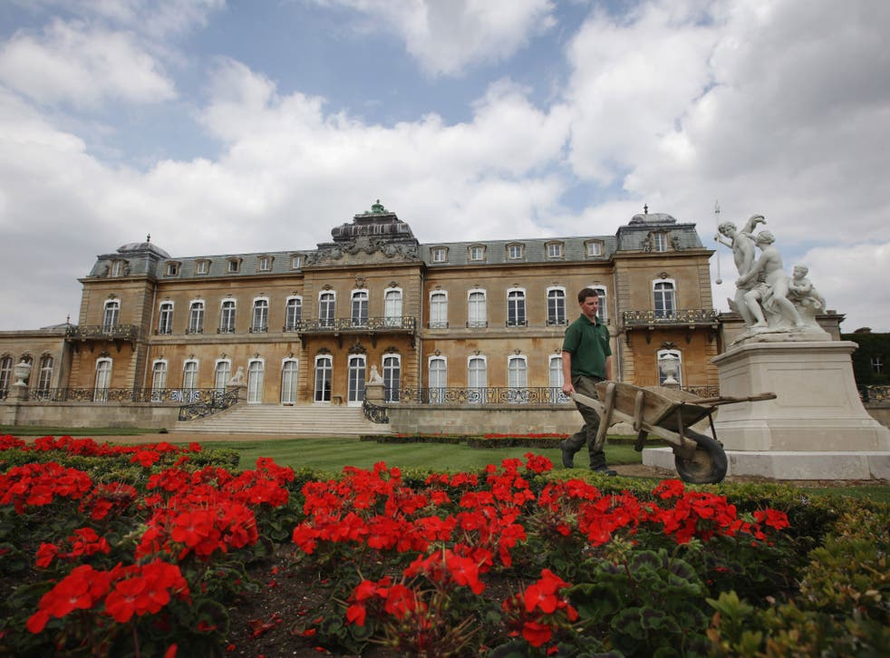 A general view of the 18th Century mansion at Wrest Park on July 28, 2011 in Silsoe, England.