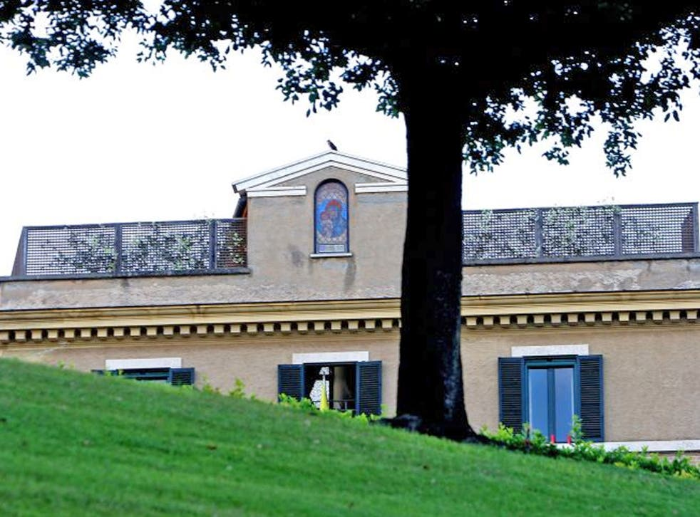 A view of the convent of Mater Ecclesiae, the new residence of Pope Benedict XVI after his retirement, in Vatican City