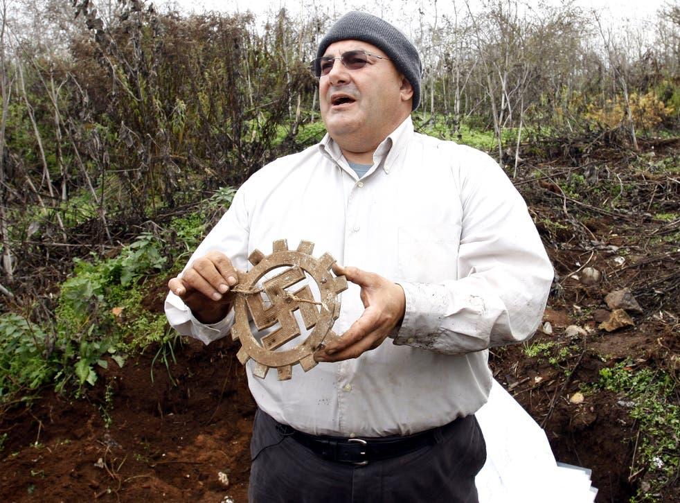 Israeli investigative journalist and gold hunter Yaron Svoray