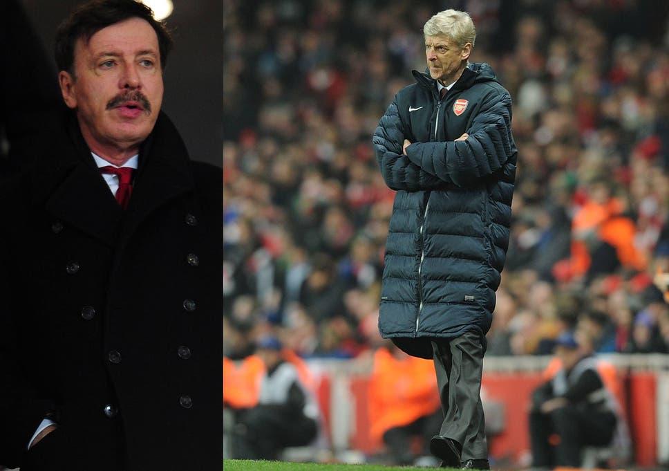 b548116cf Stan Kroenke to offer Arsene Wenger full support at Arsenal board meeting