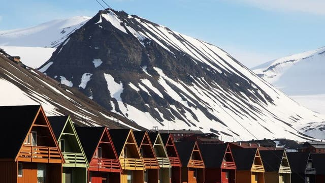 About two-thirds of Spitsbergen's population live in Longyearbyen