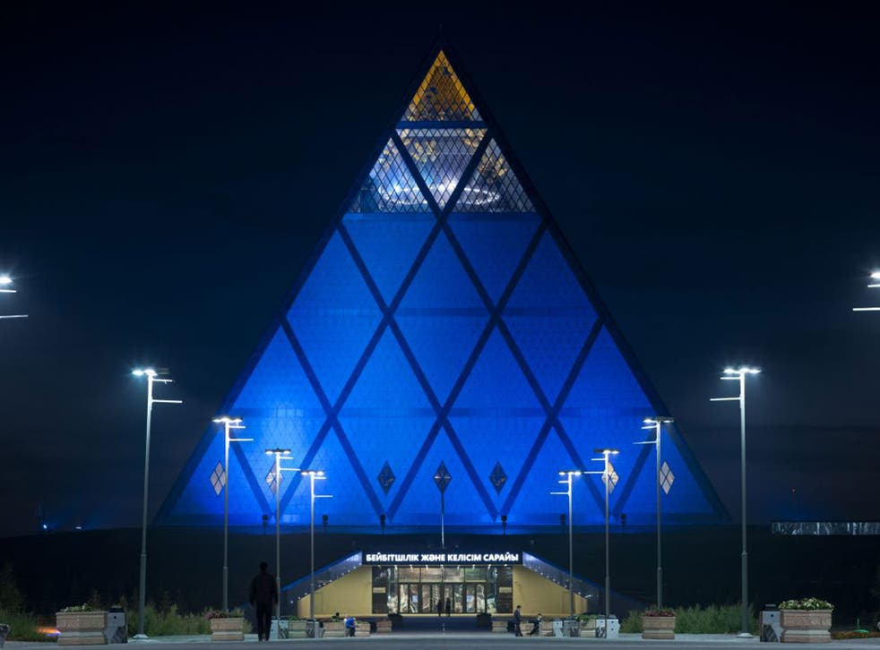 Foster and Partners</BR> The British firm, led by Lord Foster, designed London landmarks such as the Millennium Bridge and Wembley Stadium, but also built the Palace of Peace and Reconciliation and Khan Shatyr Entertainment Center in Kazakhstan – a de fac