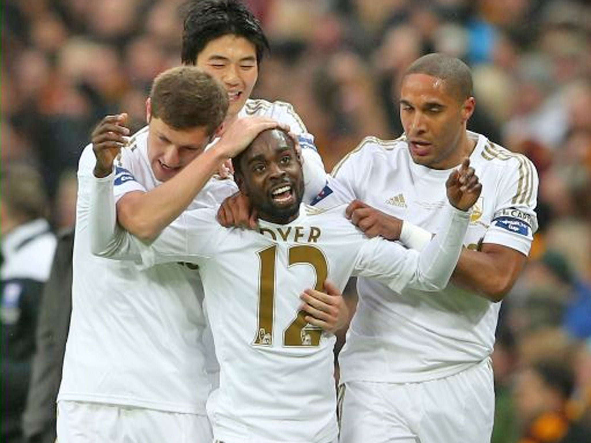Epic Journey ends in stroll for Swansea with League Cup triumph over Bradford City | The Independentindependent_brand_ident_LOGOUntitled