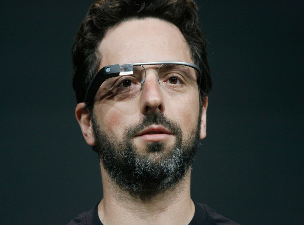 Sergey Brin, co-founder of Google, introduces the Google Glass last year