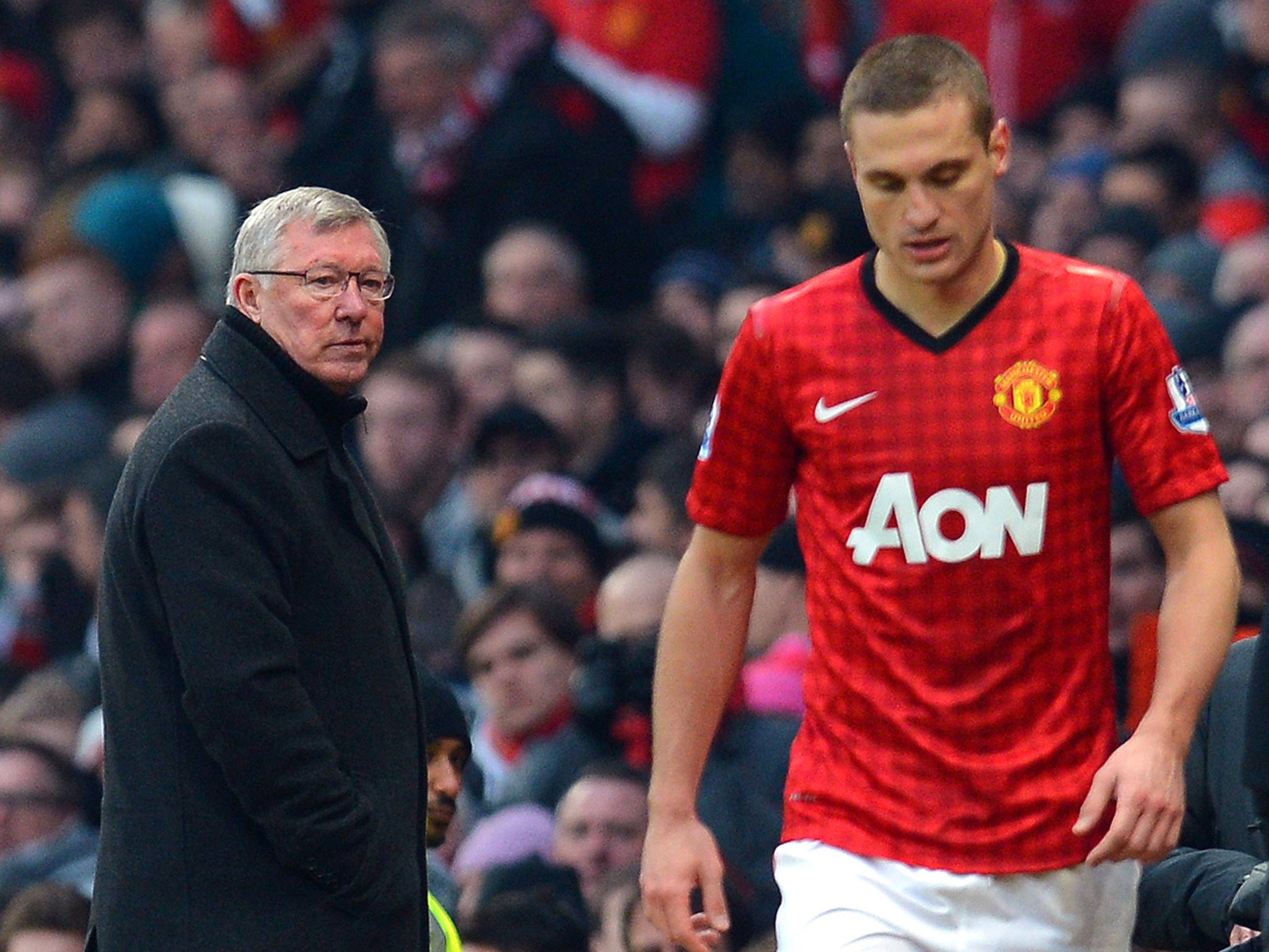 Manchester United captain Nemanja Vidic labels David Moyes a