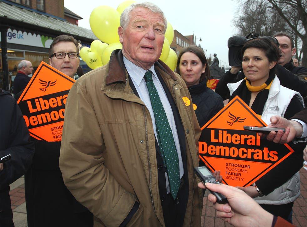 Paddy Ashdown, former Lib Dem leader
