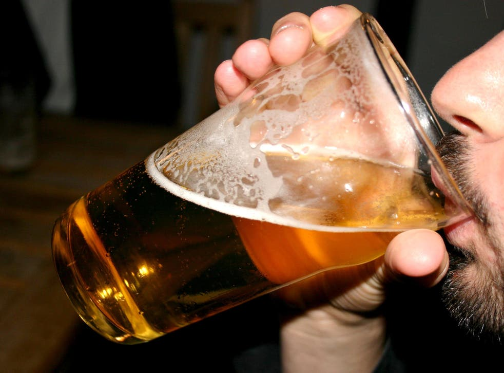 The study suggests that around half of all English men and women can be classified as binge drinkers