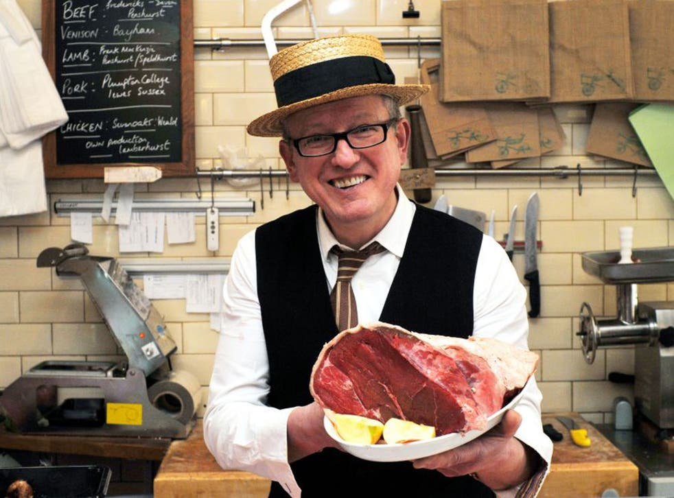 The man to meat: butcher Peter  Speaight in his shop in Tunbridge Wells