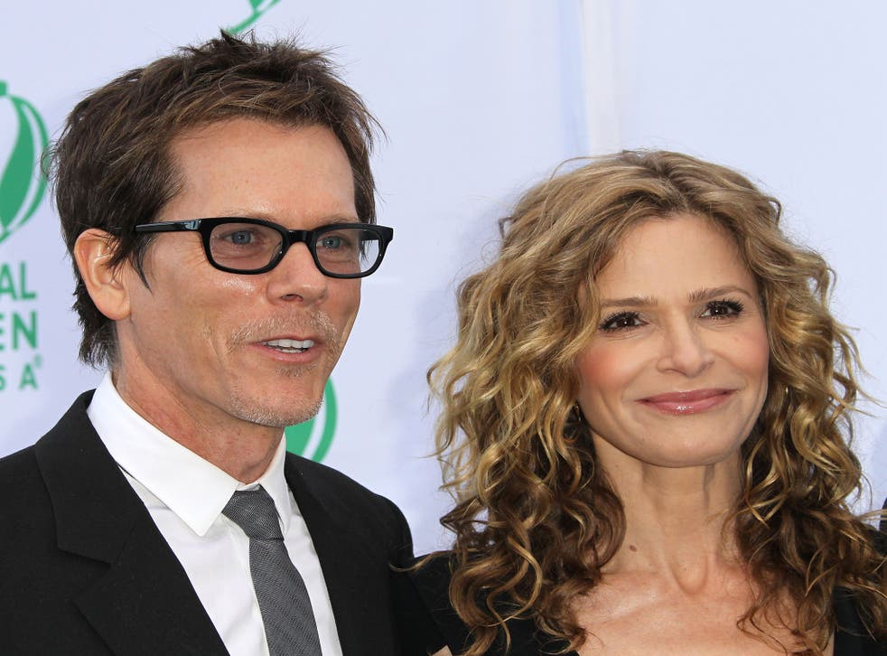 Husband and wife Kevin Bacon and Kyra Sedgwick discover after 25 years of marriage that they are cousins