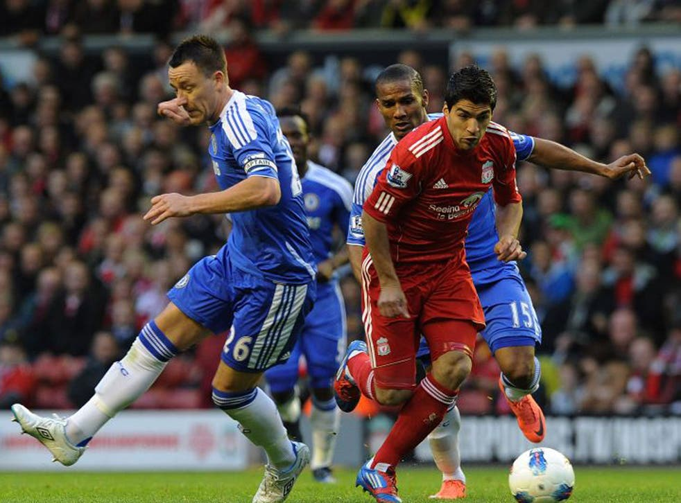 Unacceptable: John Terry (left) and Luis Suarez still have cases to answer