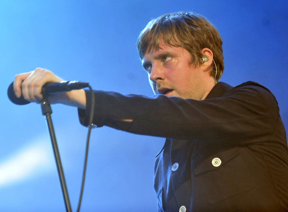 Kaiser Chiefs (lead singer Ricky Wilson, above) were were the first act announced as part of the Leeds Arena opening season