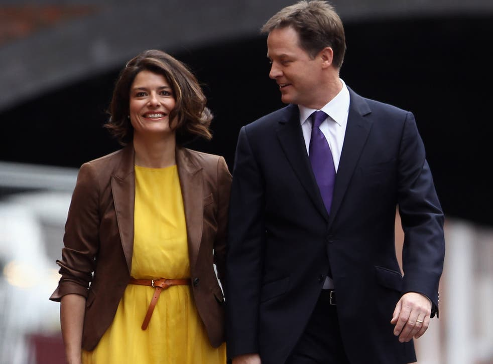 Nick Clegg and his wife Miriam Gonzalez Durantez are sending their son Antonio to the London Oratory School