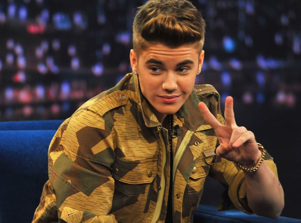 Pop superstar, Justin Bieber
