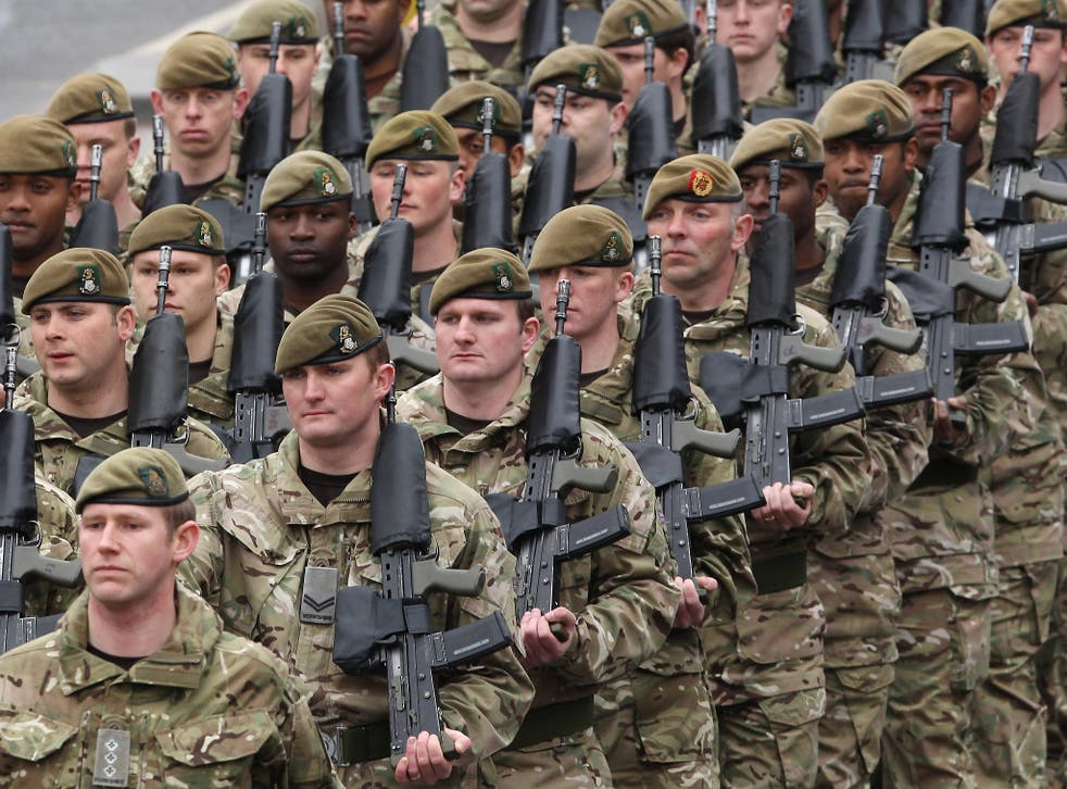 Returning forces will mainly be stationed around Salisbury Plain, Edinburgh and Leuchars, Catterick, Aldershot, Colchester, Stafford and the East Midlands