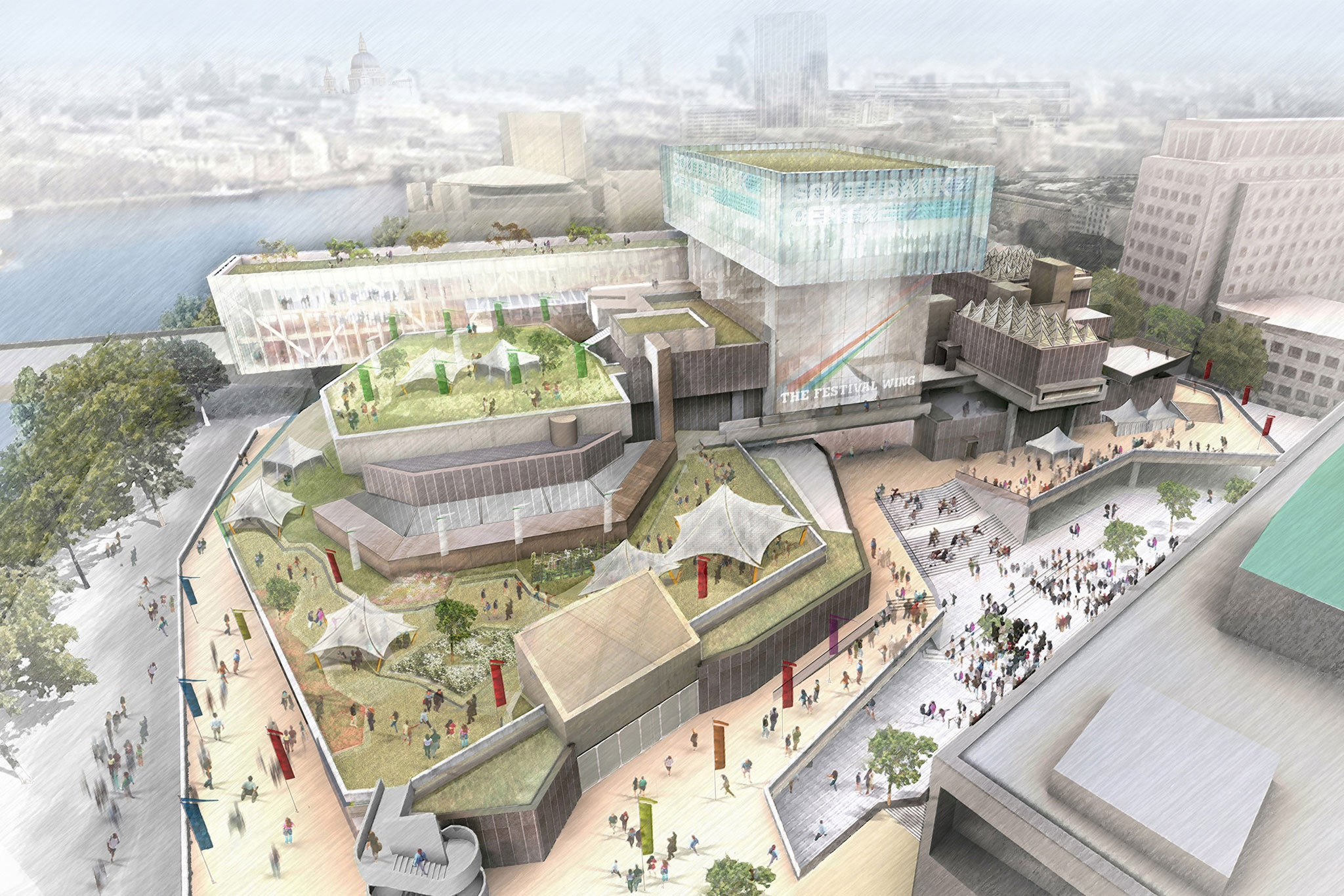 Home Ideas Centre Southbank: £100 Million Revamp Of Southbank Centre Hailed As 'biggest