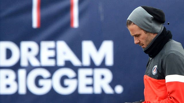 <b>David Beckham - £175m</b><br/> The Former Manchester United and Real Madrid midfielder played an important role in both teams' success domestically and in European competitions. David Beckham recently signed a five month deal with Paris Saint-Germain a